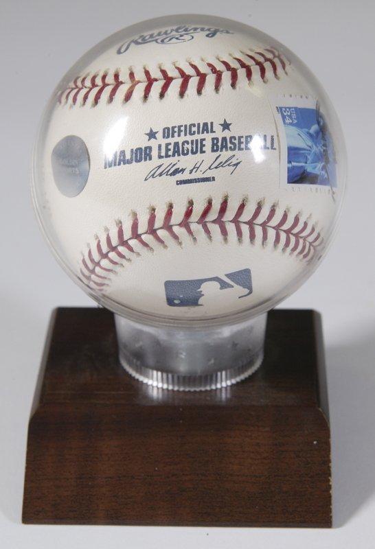 10: Barry Bonds 73 HR 10/7/01 Signed Baseball