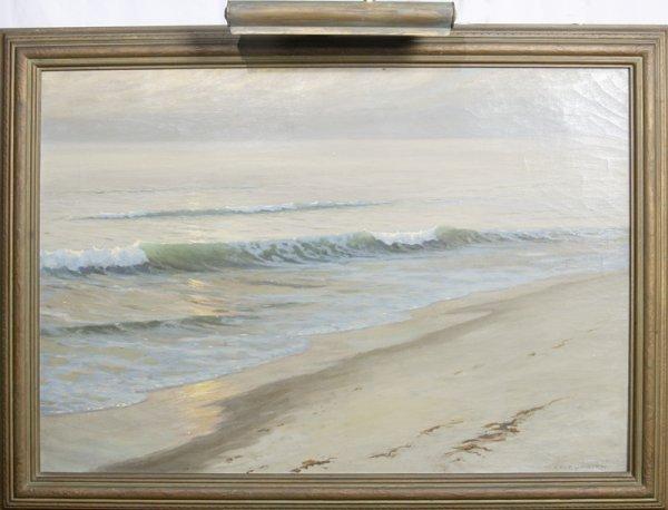 106: Frank William Cuprien, Oil Painting on Canvas