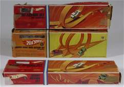 142 1960s Hot Wheels Track Sets