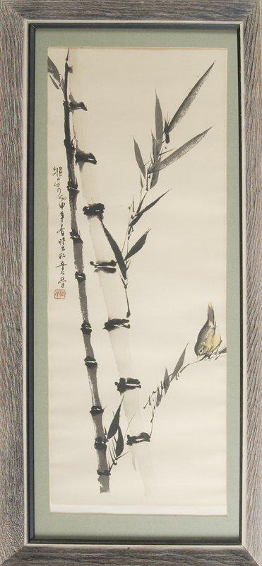 12: Framed Chinese Print