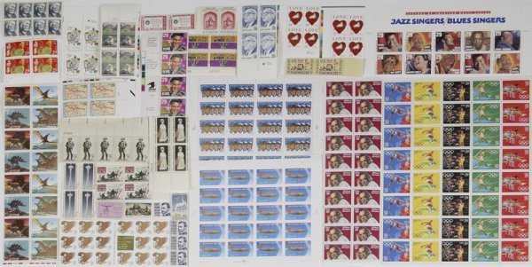 9: Very Large Lot of Unused Stamps and Stamp Sheets