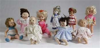 290: Lot of Vintage Dolls