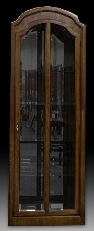 617: Very Fine Bunching Curio Cabinet
