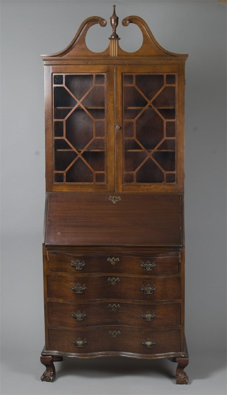 506: Very Fine Eastlake Style Secretary Bookcase