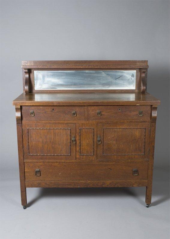 509: Very Fine Arts & Crafts Sideboard