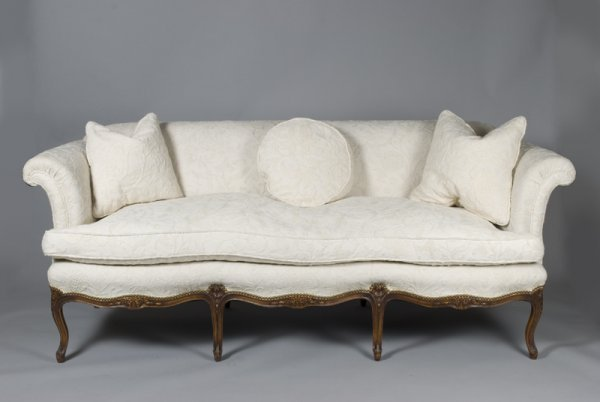 514: Very Fine Late 19th C. Louis XV Sofa