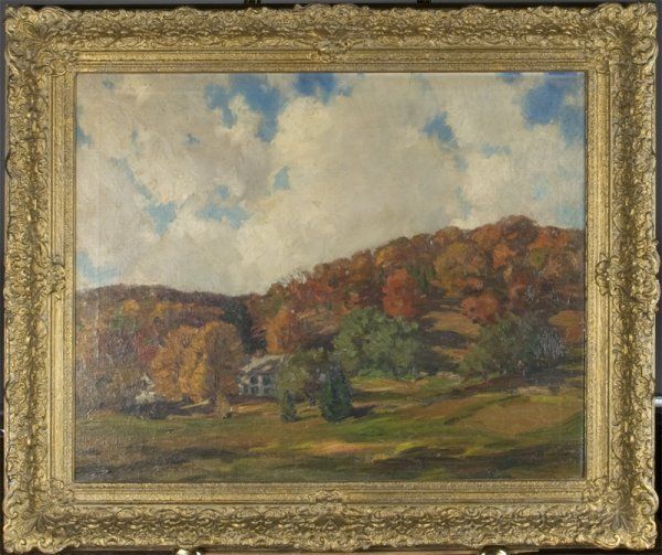600: Robert Emmett Owen Oil Painting On Canvas