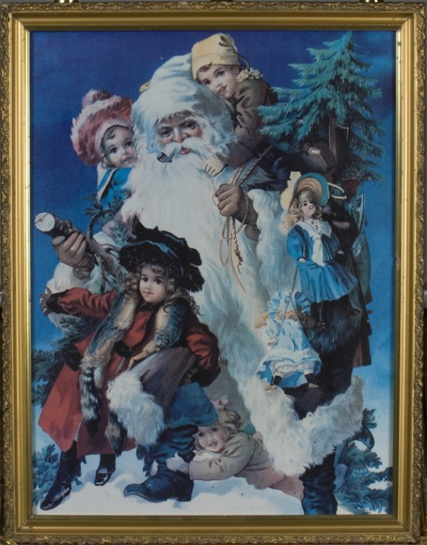 1044: Christopher Radko Oil Painting on Canvas - 3