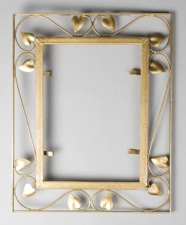 2: Heart Leaf Form Gold Frame