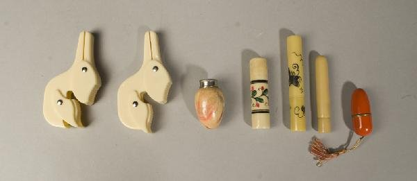 6: Grouping of Vintage Sewing & Manicure Items