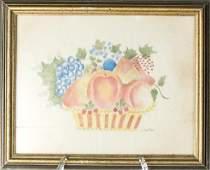 Jane Barton, Theorem Painting on Velvet