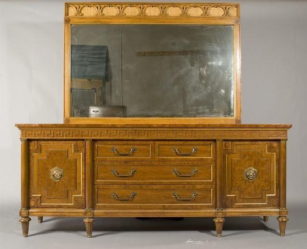 18: Thomasville Wardrobe, Dresser and Mirror