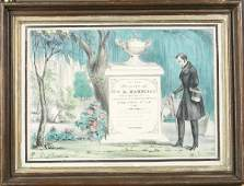 113 19th C Currier  Ives Hand Colored Lithograph