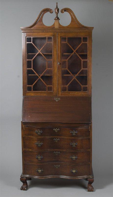 19: Very Fine Eastlake Style Secretary Bookcase