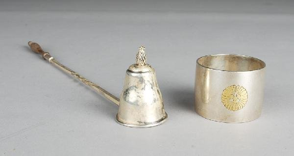 614: (2) Pieces Sterling Silver
