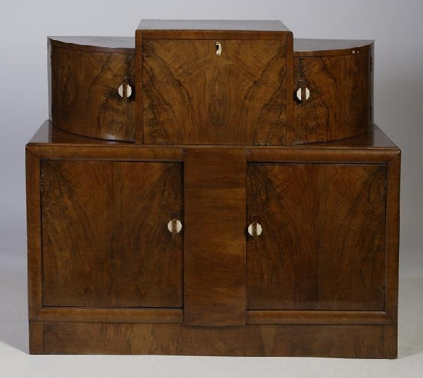 627: Ca. 1940's English, Walnut Server