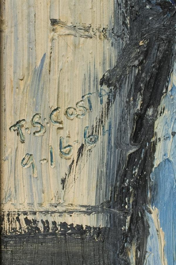 858: Tom S Costa Oil Painting On Board - 3