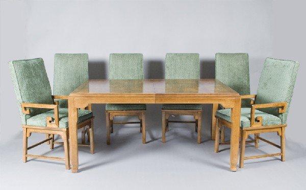 14: Century Asian Style Dinning Set & China Cabinet