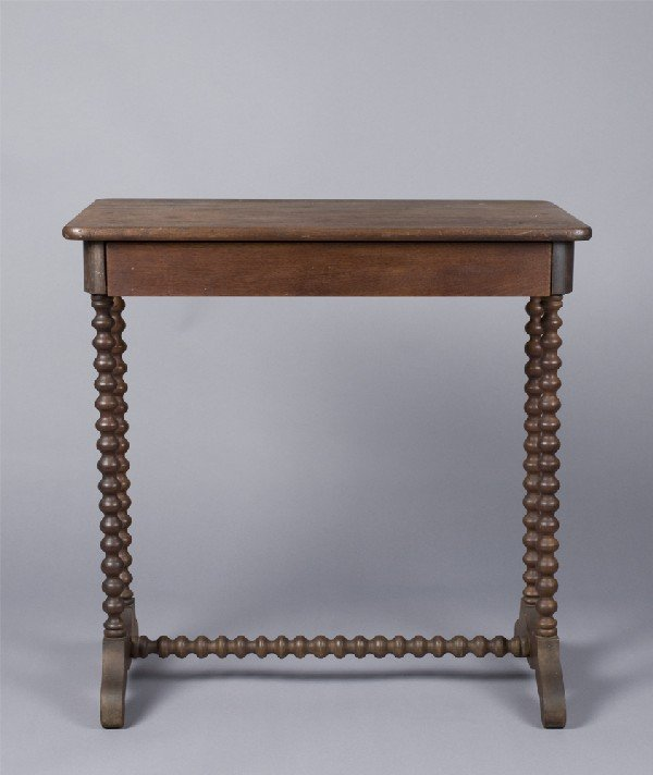 20: Nice Victorian Small Scale One Drawer Table