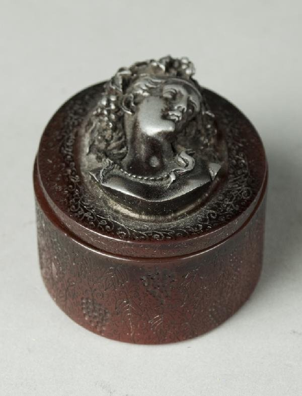 286: Antique French Signed Trinket Box