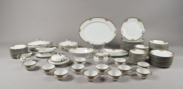 18A: (96) Pieces of Fine Porcelain, Probably Nippon