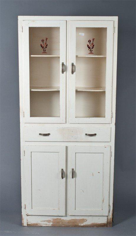 1: Vintage Kitchen Cabinet