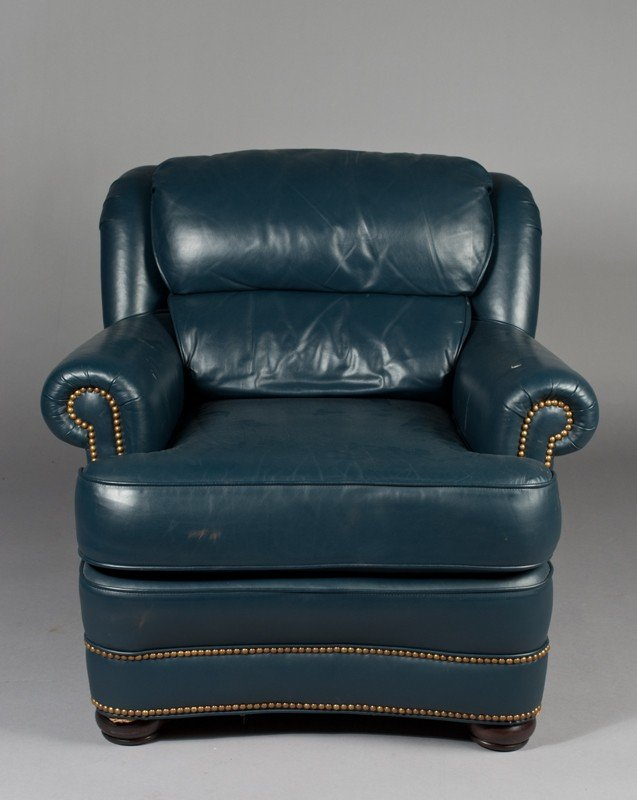 20: Fine Whittemore-Sherrill Leather Chair