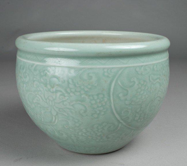 609: Fine Chinese Celadon Planter