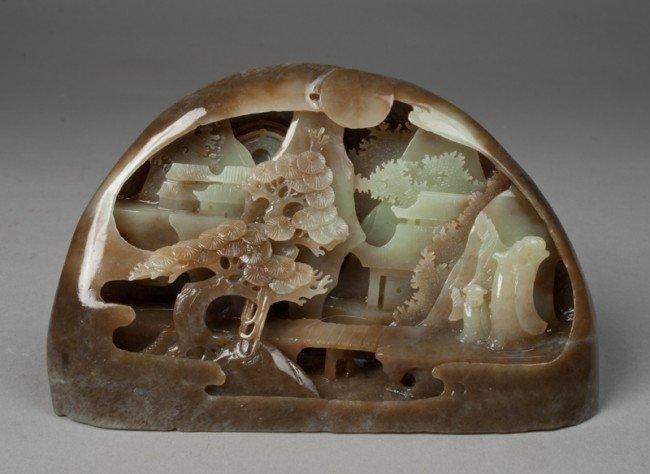 5: Fine Chinese Carved Jade Boulder