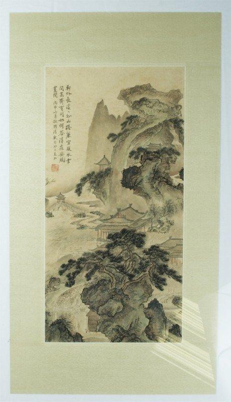 20: Chinese Watercolor Painting Attb. to Yuan Jiang