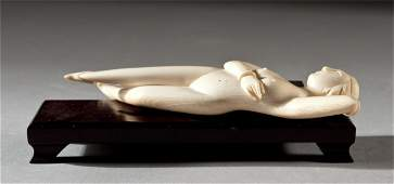 148: Chinese Carved Ivory Doctor's Model