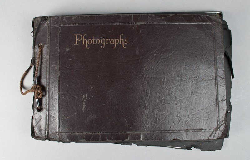 18: Antique Photo Album and Photographs