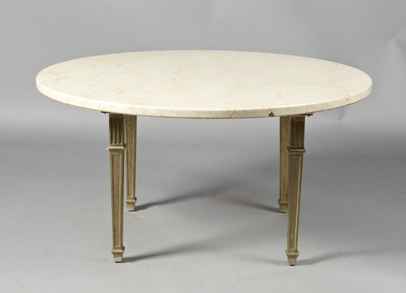 23: A Fine Marble Top Coffee Table