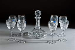 59 9 Pieces of Fine Crystal Including Waterford
