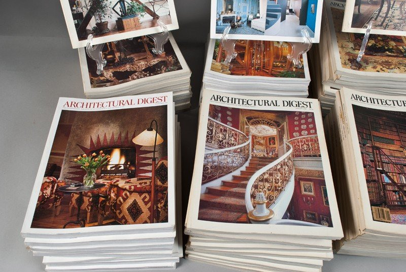 168: (285) Past Issues of Architectural Digest Magazine - 2