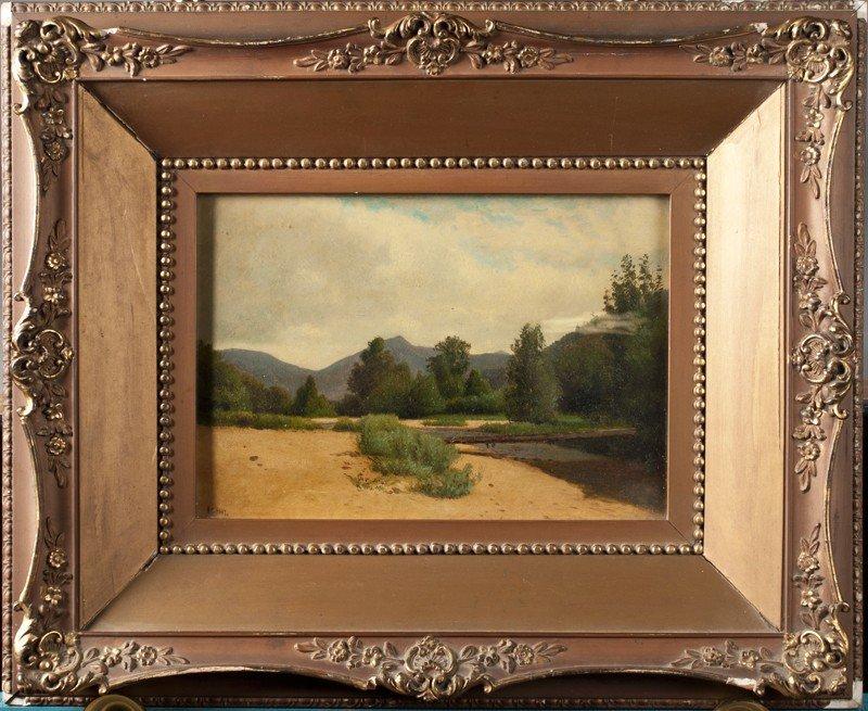 456:. William McDougal Hart, Oil Painting on Board