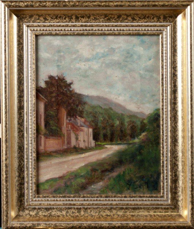 463: Angel De Service Espoy, Oil Painting on Canvas
