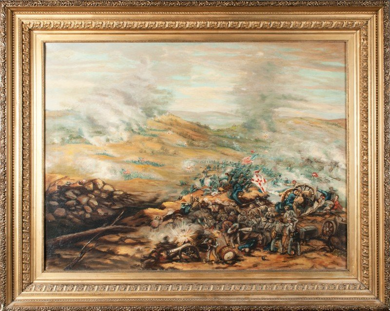 469: F. Kudner, Oil Painting on Canvas