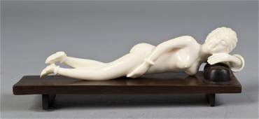 125: A Fine Chinese Carved Ivory Doctors Model