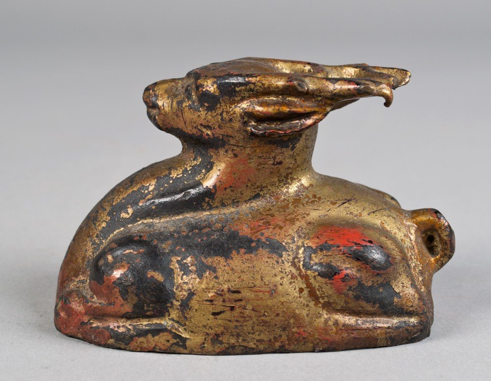 651: A Fine Chinese Qing Bronze Deer