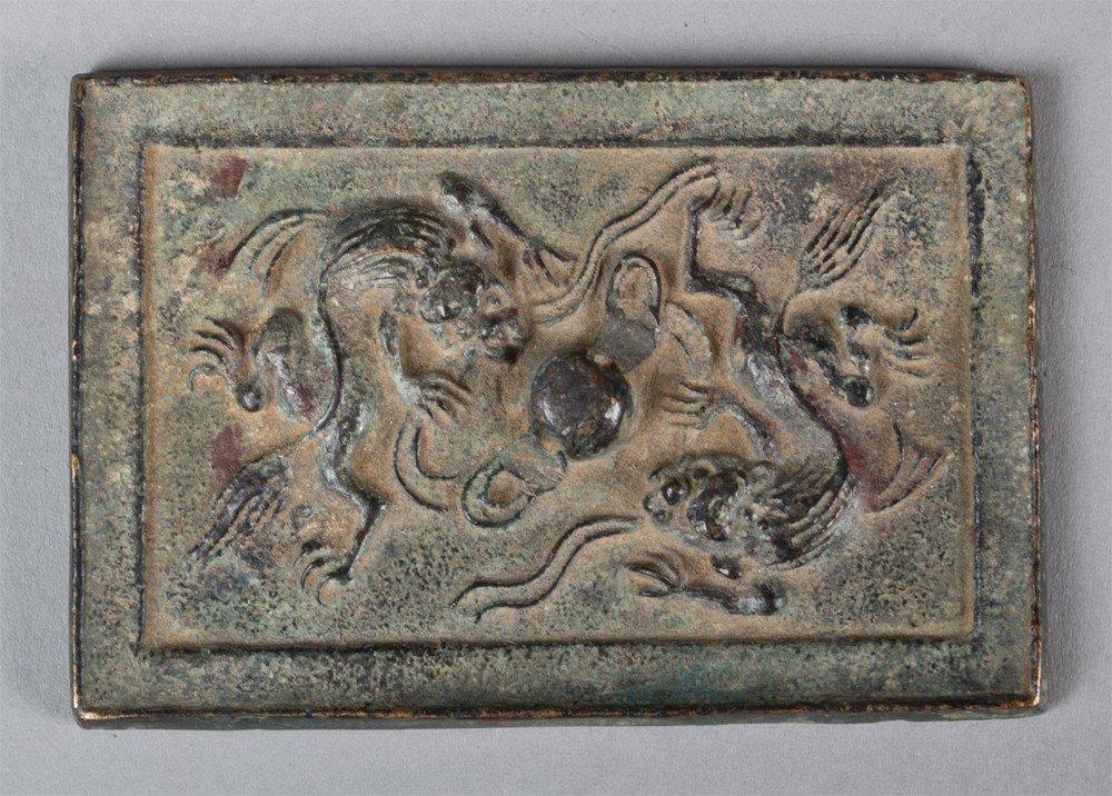 656: A Fine Chinese Bronze Mirror