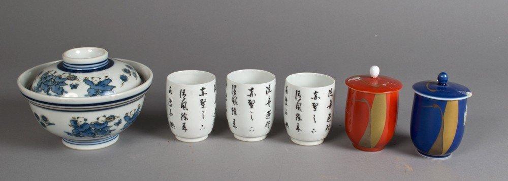 698: (6) Pcs. Japanese Porcelain
