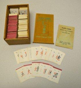 Boxed Set Of Chinese Language Flash Cards
