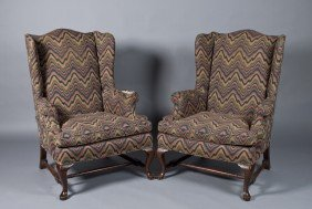 16: Pr. Of American Queen Anne Armchairs