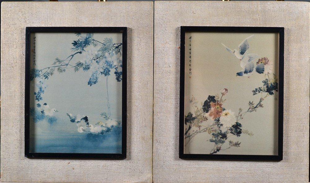 492: Pr. Of Chinese Framed Prints
