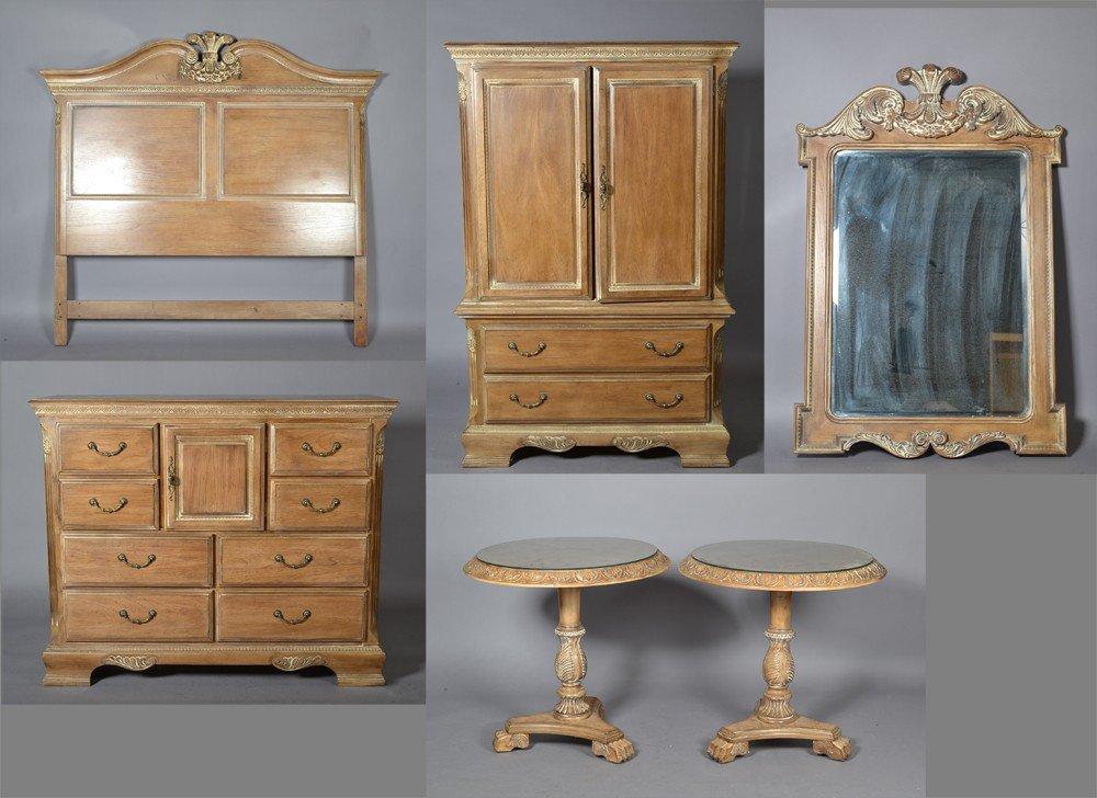 498: (6) Piece 18th C Style Lexington Bedroom Set