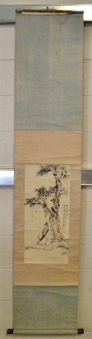 Chinese Scroll Painting Signed Zhang Da Qian