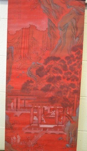 11: Chinese Scroll Painting Signed Shen Luo