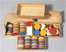 259: (3) Boxes of American Poker Chips