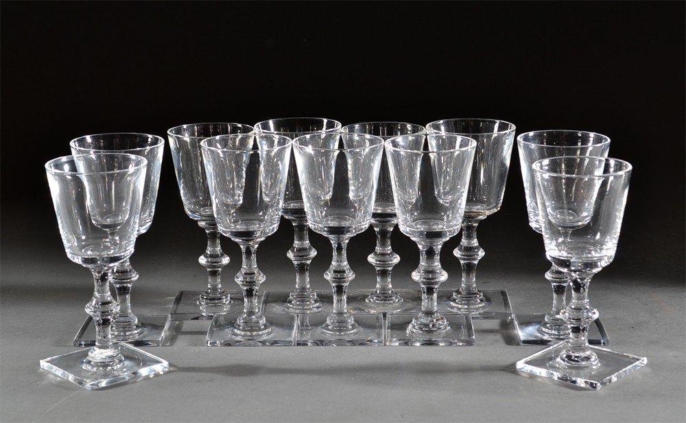 441: (11) Steuben Wine Glasses